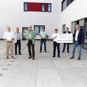 Eröffnung neue Pinselfabrik